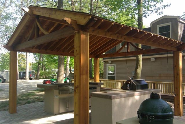 From Simple To Elaborate, Standard Or Full Custom, Let DECKED OUT Side  Create An Outdoor Kitchen That Will Change The Way You Spend Time Outside.