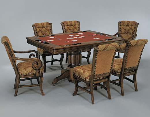 Bars game room furniture for Dining room game table